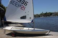 Laser Radial and Standard Rigs - good condition Killarney Heights Warringah Area Preview