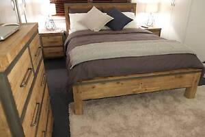 Contemporary Hardwood Colorado Bed Frame - Brand New Hawthorn Boroondara Area Preview