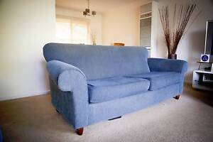 3 seater and 2 seater couch - perfect for first home buyer Golden Grove Tea Tree Gully Area Preview
