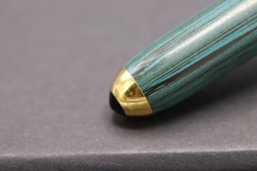 Cartier Louis Cartier Dandy Limited Edition Green Ebonite LE Fountain Pen 3