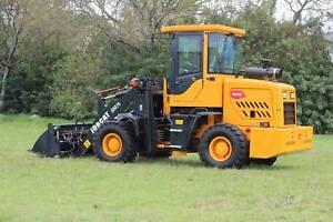 JOBCAT SM75 75HP 5.2 Tonnes GP Bucket+Forklift+Bucket 4 in 1+Grab