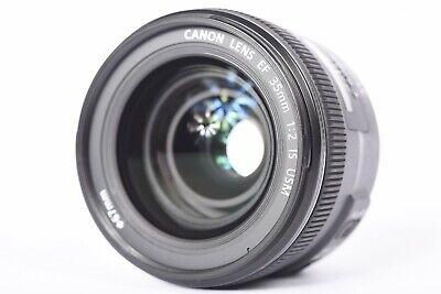Canon EF 35mm f/2 IS USM Wide-Angle Lens w/ EW-72 Lens Hood   #P1083