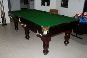 Pool Table     Immaculate     Slate    SUIT NEW BUYER    Walloon Ipswich City Preview