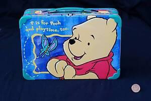 """Winnie The Pooh"" – Playworks / Disney Tin Lunchbox Mandurah Mandurah Area Preview"