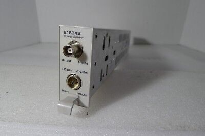 Agilent 81634b Optical Power Sensor Module
