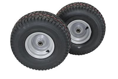 "15x6.00-6 Husqvarna/Poulan Tire Wheel Assy .75"" Bearing"