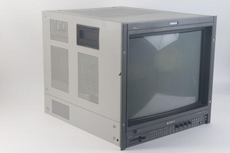 "Sony BVM-20F1U HR Trinitron 20"" Retro Gaming Color Video Monitor - Dark Spot"