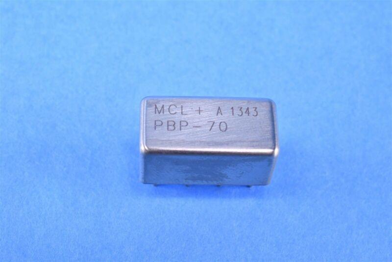 Mini Circuits PBP-70, 70 Mhz (63-77 Mhz) Band Pass Filter 50-Ohm DIP8 New