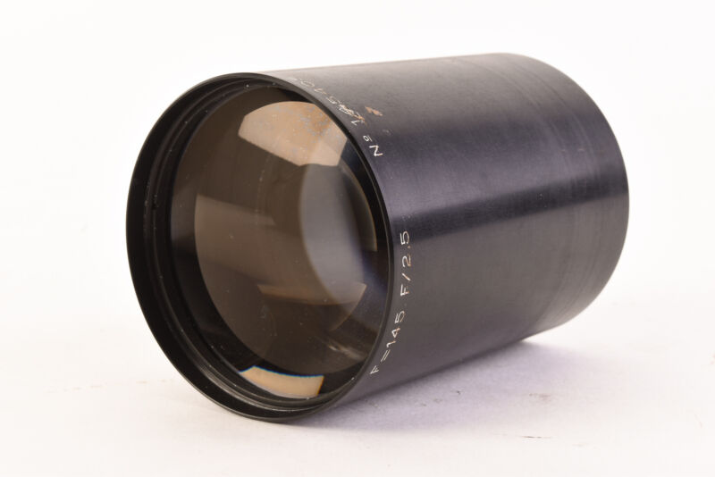 Benoist Berthiot Neo Cinestar 2 145mm f/2.5 Projection lens VERY RARE V46
