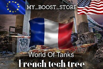 World of Tanks (WoT) -   ANY FRENCH TIER 10 TANK   7 Days   Not Bonus Code  