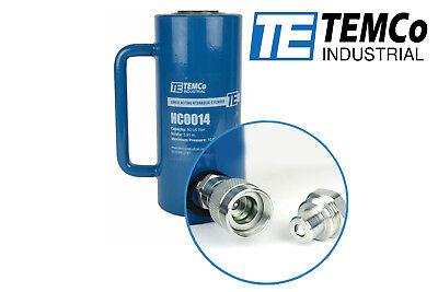 Temco Hc0014 - Hydraulic Cylinder Ram Single Acting 30 Ton 6 Inch Stroke