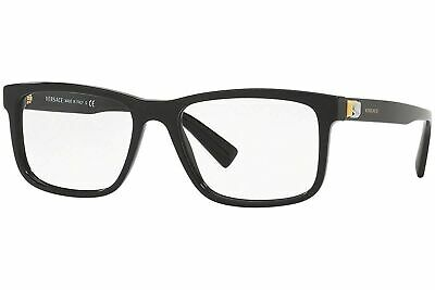 Versace Men's black Eyeglasses 0VE3253 55mm