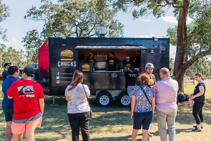 CHUCKS BURGERS Mobile Food Trailer/Van/Truck
