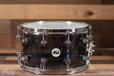 "DW 8"" x 14"" Smoke Acrylic Snare Drum"