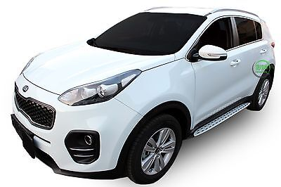 Kia Sportage 2016- up Running Boards Side Steps  PREMIUM QUALITY Factory Style