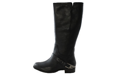 UGG Australia Channing II Tall Women's Black Buckle Riding Winter Boot size 6.5 for sale  Jersey City