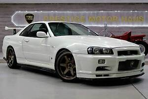 2001 Nissan Skyline GT-R R34 M-SPEC Wetherill Park Fairfield Area Preview