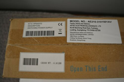 NEW Sealed Motorola HPN4007D Mobile Base Radio Power Supply 14V 15A for 25-60w