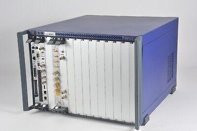 Acterna JDSU ONT-512, 12-Slot Mainframe w/ Modules Jitter / Wander, OTN + More