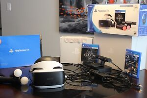 PlayStation Virtual Reality Skyrim Bundle
