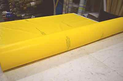 "BRAD-FLEX WATERPROOF YELLOW PVC POLYMER ACOUSTIC SOUNDPROOFING BARRIER 59""W"