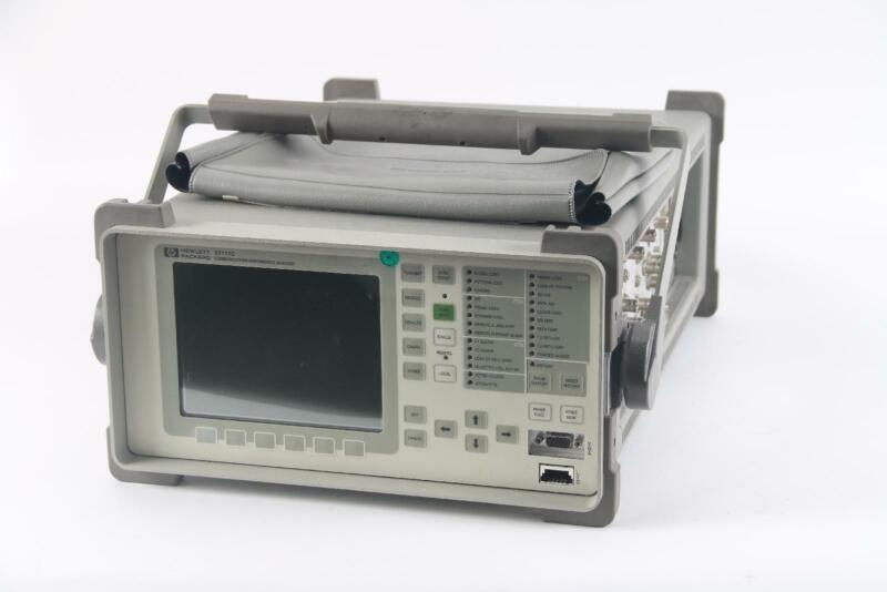 HP 37717C OmniBer Communications Performance Analyzer W/Options