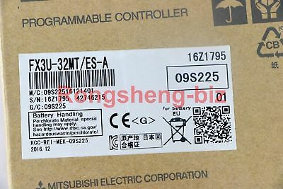 New Mitsubishi Plc Fx3u-32mt-es-a Programmable Logic Controller Ac Base Unit