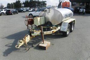 1985 roadrunner Tank 400 Tandem Axle Trailer