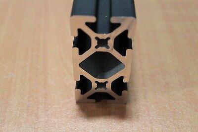 8020 Inc Tslot Smooth Aluminum Extrusion 15 Series 1530-s X 24 Black H1-2