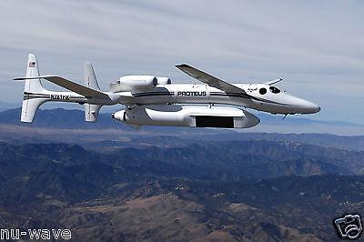 Proteus Aircraft  Carrying Global Hawk Variant Of New Multiplatform Radar Tech