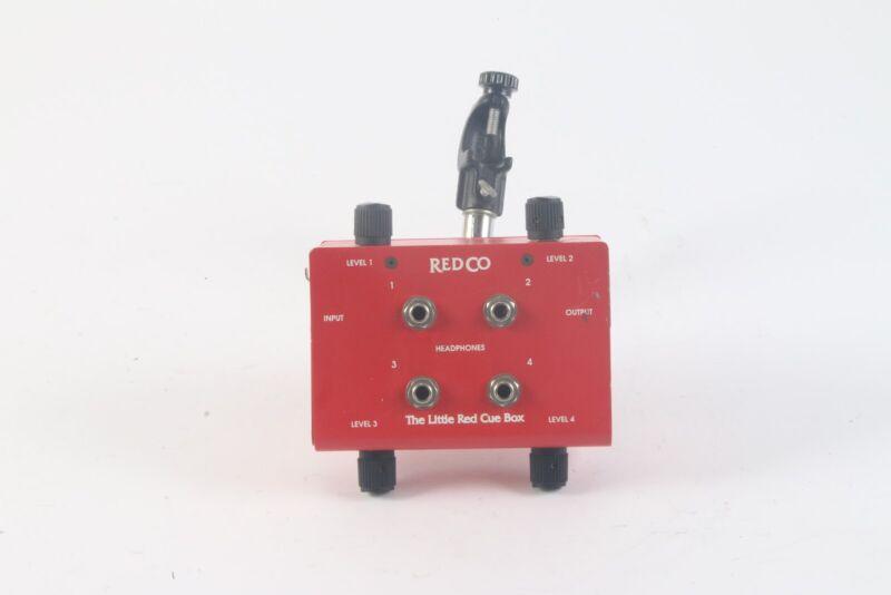 Redco Audio Little Red Cue Box 4-Headphone Monitor Box