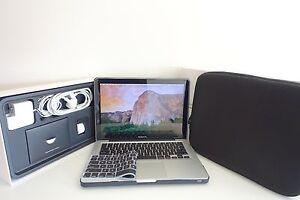 "MacBook Pro 13"" 2010 + 250GB 4GB RAM + case + AS NEW + POST! Melbourne CBD Melbourne City Preview"