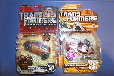 Transformers Hunt For The Decepticons  SIDEARM SIDESWIPE Deluxe & movie mud - Transformers Movies For Kids