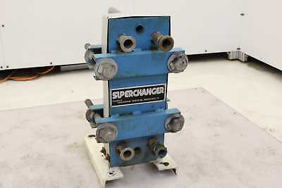 Superchanger Ux-056-uj-8 Plate Heat Exchanger 30.4 Sq. Ft.
