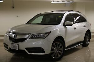 2014 Acura MDX Navigation Package Blind Spot Monitor/Lane Dep...