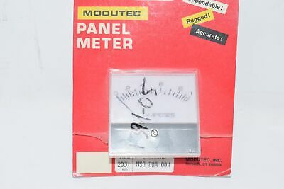 New Modutec Msq-daa-001 Jewell Instruments Panel Meter