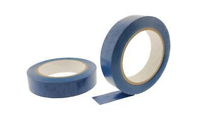 2x 1 Royal Blue Insulated Adhesive Pvc Pin Striping Vinyl Electrical Tape 36yd