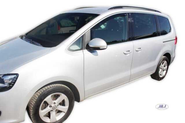 VW Sharan 2010-up Front wind deflectors visors 2pc Internal Fit TINTED HEKO