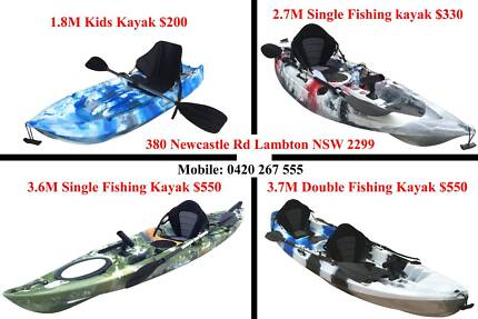 Newcastle kayaks best value quality 2.7M fishing kayak for sale