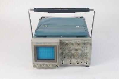 Tektronix 2467b 4-channel 400mhz Analog Oscilloscope W Power Cable