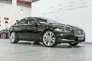 2013 Jaguar XF MY13 3.0D Premium Luxury Black 8 Speed Automatic Sedan Port Melbourne Port Phillip Preview