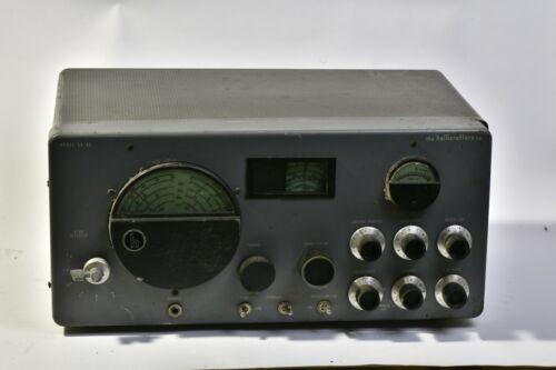 Hallicrafters SX-43U Shortwave Radio Receiver Tested working