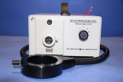 1 Used Jh Technologies 2050026 Fiber Optic Light Source Illuminator With Fibe