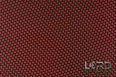 Hydrographic Hydro Dipping Water Transfer Film Red Carbon Fiber Braided Weave