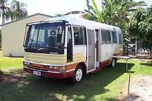 1993 mod.6.3mt LWB Nissan Civilian 4.2lt diesel motor home. Poona Fraser Coast Preview
