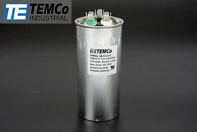 Temco 805 Mfd Uf Dual Run Capacitor 370 440 Vac Volts Ac Motor Hvac 805