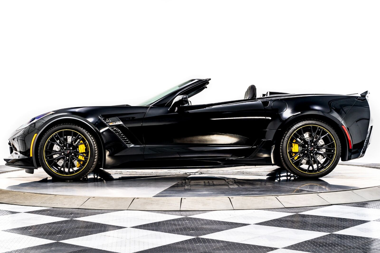 2018 Black Chevrolet Corvette Z06 3LZ   C7 Corvette Photo 5