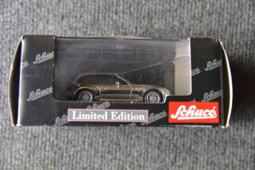 Limited Edition Schuco BMW Z3 M3 M Coupe Metallic Silver Model Collector Toy