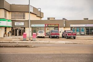 Retail space with great visibility for lease in Regina!