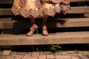Gorgeous Lengha worn for 2 hours